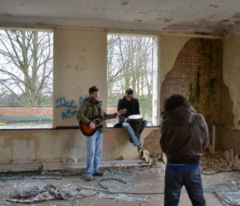 Minus 27 - Lonely Day - Video Shoot - Cambridge