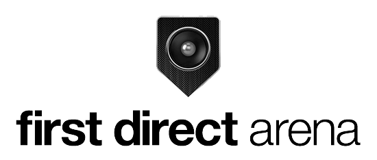 first direct arena logo - Minus 27